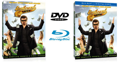 Eastbound & Down Season 4 DVD or Blu-ray